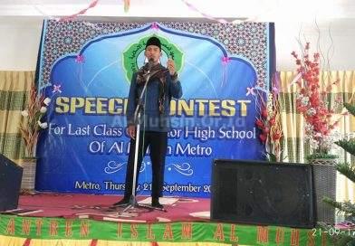 Speech Contest Santri Kelas XII Madrasah Aliyah Al Muhsin