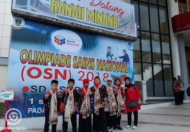 Kami mohon doa agar sukses di Olimpiade Sains Nasional 2018 di Sumatera Barat