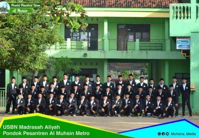 Madrasah Aliyah Al Muhsin mengadakan USBN (Ujian Sekolah Berstandar Nasional) TP 2018/2019