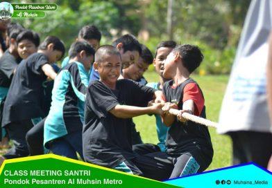 Class Meeting Santri Al Muhsin bertajuk 'Basthotan fil Ilmi wal Jism'