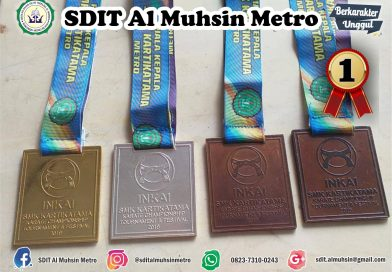 Siswa SDIT Al Muhsin Metro Juara di Karate Championship INKAI SMK